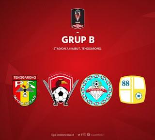 Jadwal Piala Presiden 2018 Senin 22 Januari 2018
