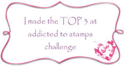 Top 3 Addcted to stamps challenge nº114