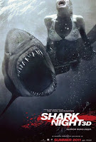 Shark Night 3D, poster de la película