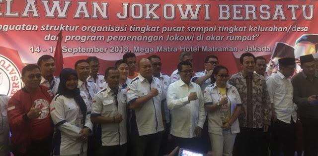 Relawan Jokowi Dibekali Jurus Penangkis Isu Ekonomi