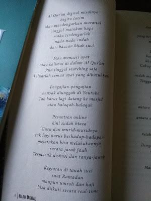 Puisi berjudul Agama Digital Karya Agus Mustofa (Part 2)