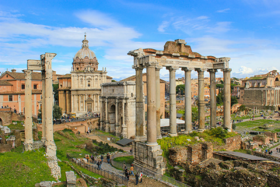 Ρωμαϊκή Αγορά (Roman Forum) - Ρώμη