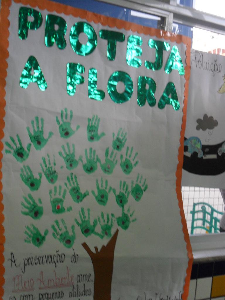 Educadora Criativa Modelo De Cartazes Para O Meio Ambiente
