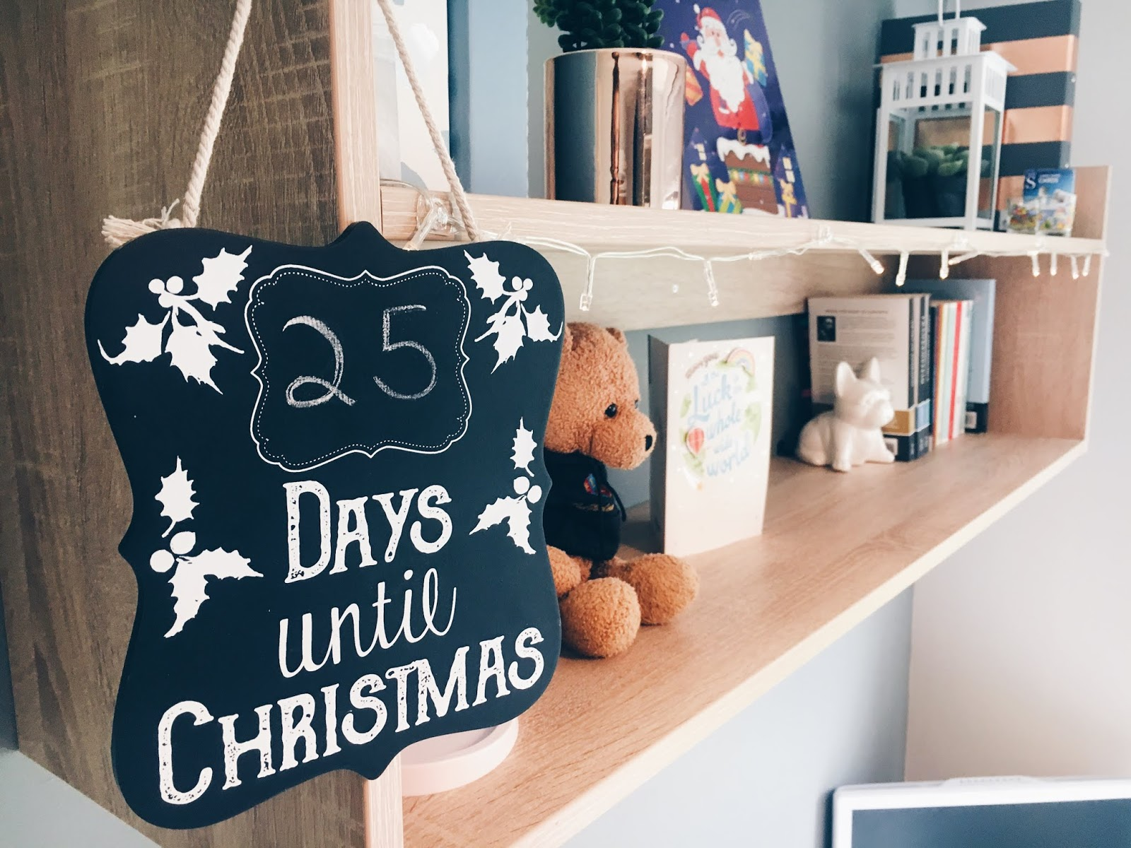 Goals for the Festive Season Blogmas Day 1