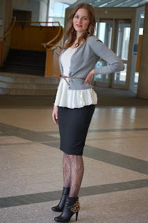 Fabulous Dressed Blogger Woman Joanna From Canada