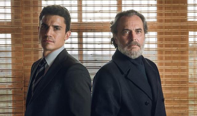 Álex González y José Coronado en 'Vivir sin Permiso'
