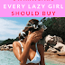 5 Swimwears Every Lazy Girl should BUY