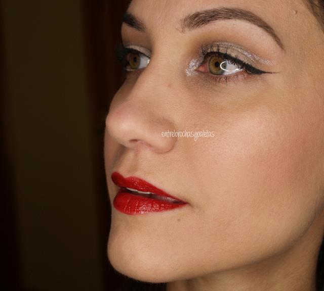 maquillaje navidad detalle plata