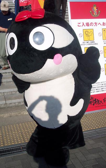 Nagoya mascot Grampako-chan still hoping to celebrate