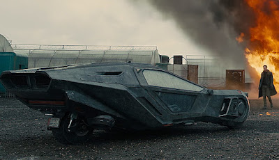 Spinner en Blade Runner 2049