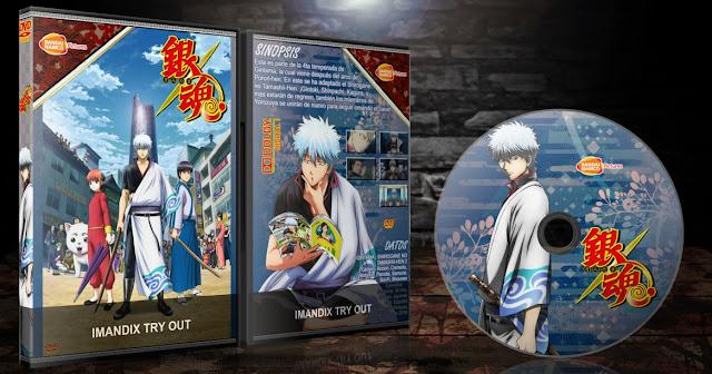 Gintama. Gin no Tamashii-hen 2nd Season | Cover DVD |