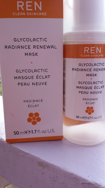 REN Clean Skincare Glycolactic Radiance Renewal Mask - www.modenmakeup.com