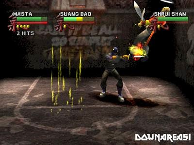 Wu Tang Shaolin Style PSX Game