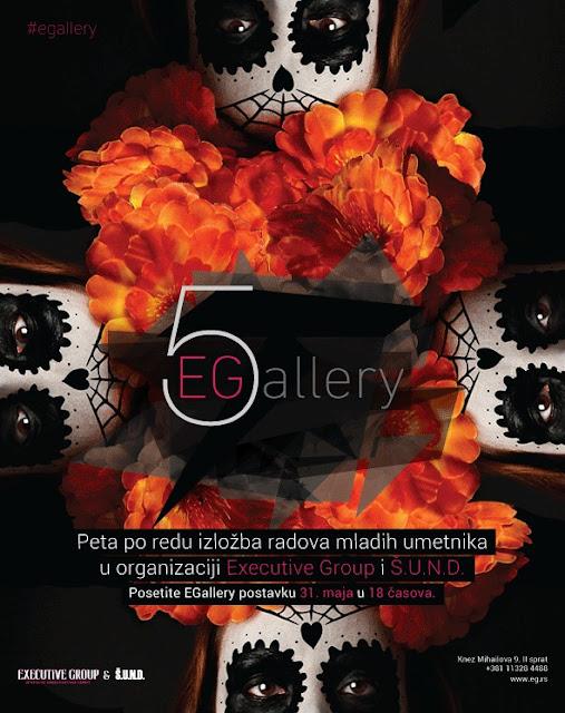 """Otvaranje pete postavke izložbe savremene umetnosti """"EGallery"""""""