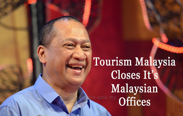 Tourism Malaysia Closes Offices in Malaysia