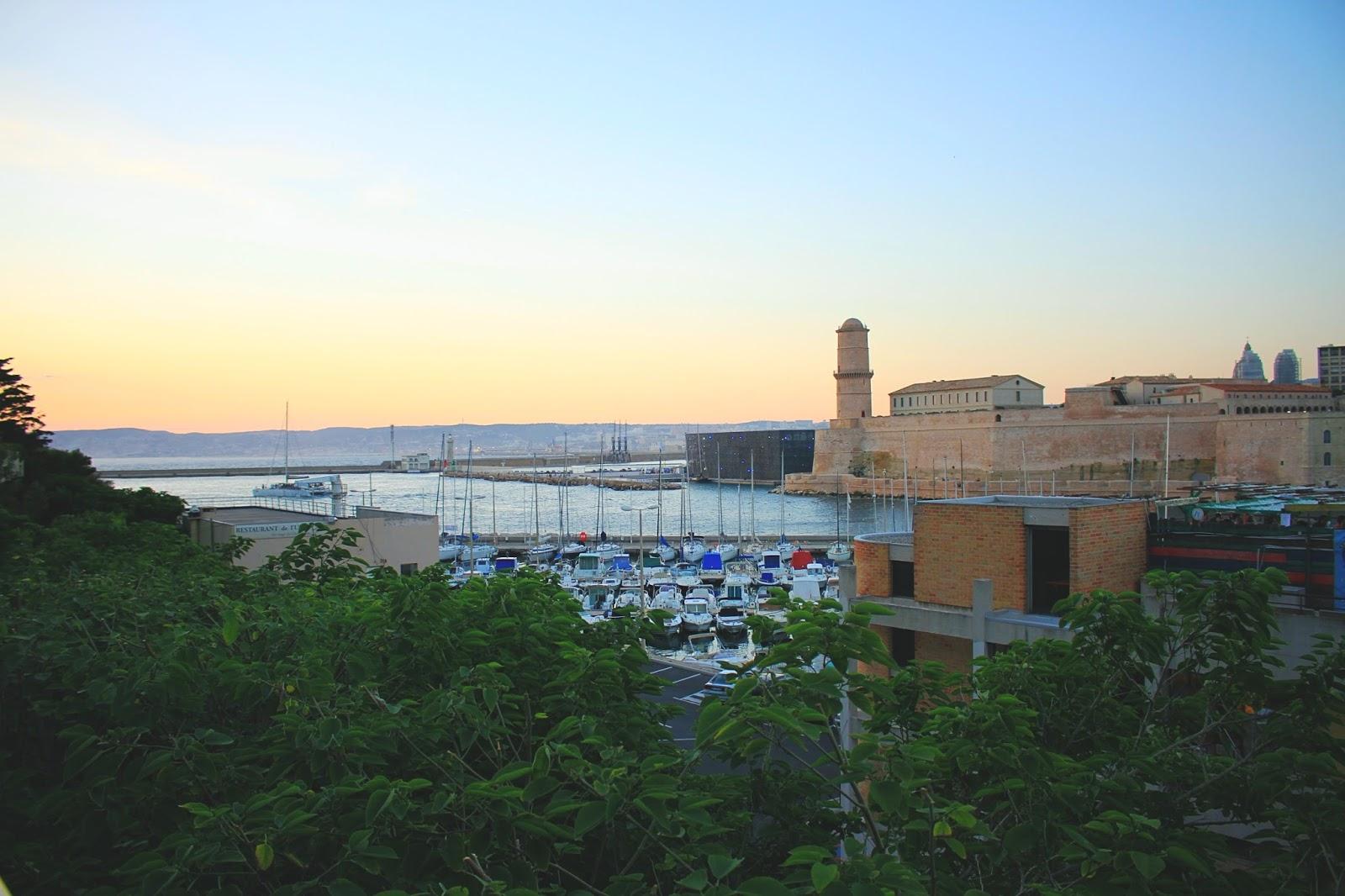 vue de marseille novotel vieux port