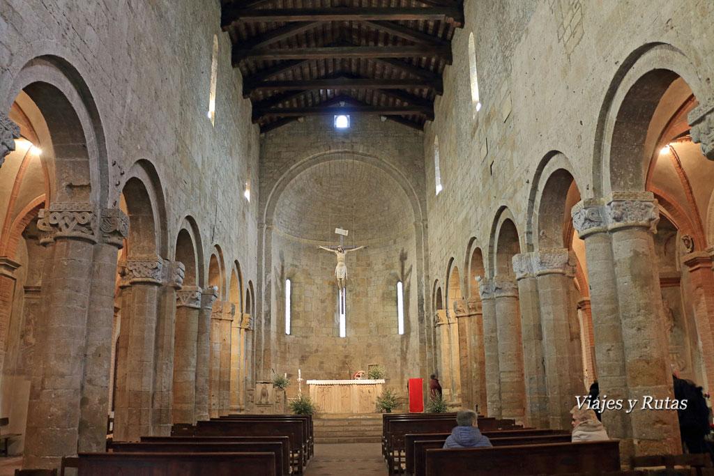 Colegiata de Santa María, Castell'Arquato, Piacenza, Italia