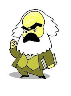 Marx critica.