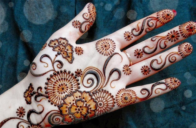 New Latest Stylish Arabic Mehndi Designs For Hands Feet And Fingers