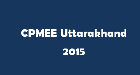 CPMEE Uttarakhand 2017 Logo