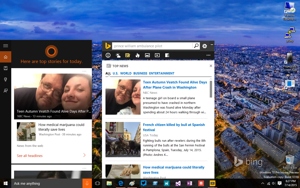 bing-desktop-vs-cortana-windows-10