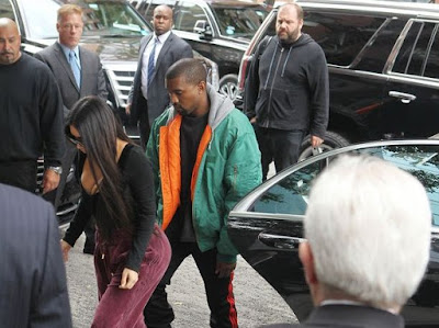 Kanye West and Kim Kardashian car report