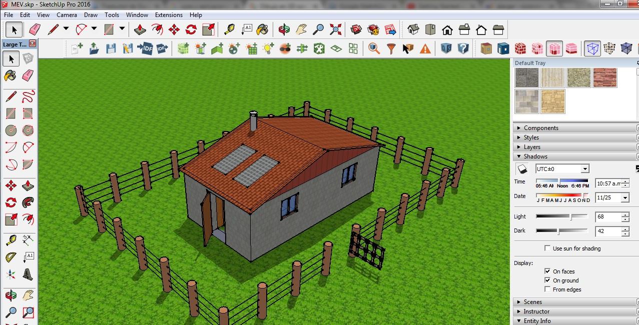 Realidad Energética Renovable con TECNOLOGÍAS LÍMPIAS : SketchUp ...