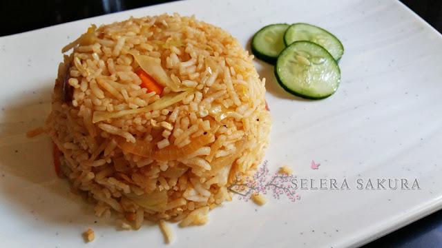 Nasi Goreng Tomyam Mudah