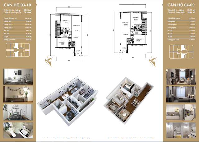 Chi tiết căn hộ dự án 360 Giải Phóng
