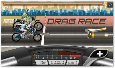 Game balap motor Android 3D