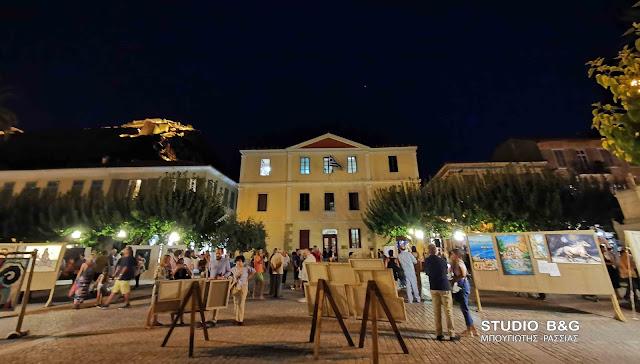 """Ολοκληρώθηκαν οι συμμετοχές της έκθεσης καλλιτεχνών για τη """"Ναυτική Ναυπλιάδα 2020"""""""