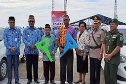 Abdul Faris Umlati Beri Kendaraan Operasional ke Lembaga Keagamaan di Raja Ampat