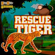 ZooZooGames Tiger Rescue Escape