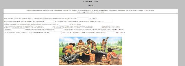 http://www.maestrospeciale.it/CLOZE PALEOLITICO.htm