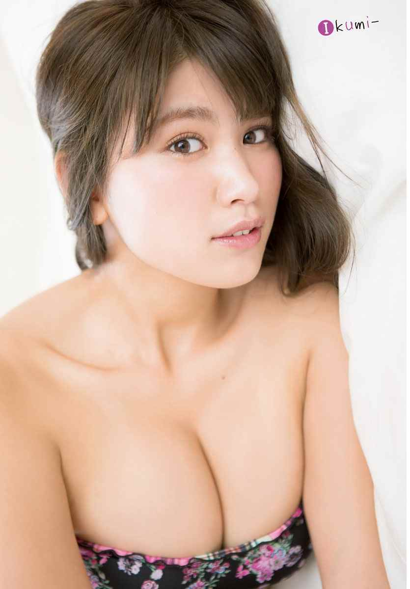 Ikumi Hisamatsu 久松郁実, Shonen Champion 2017 No.52 (週刊少年チャンピオン 2017年52号)