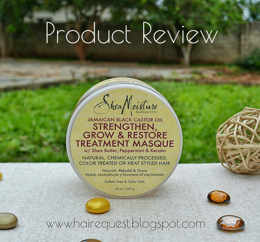Product Review | SheaMoisture Jamaican Black Castor Oil