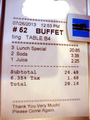 Panda Buffet Bill