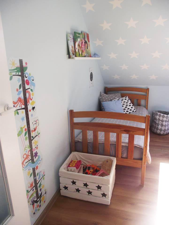 dekorator amator: Chłopięcy pokój na podaszu