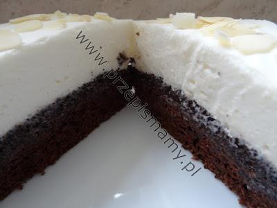 Ciasto czekoladowe z masą makową