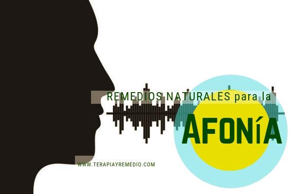 Remedios naturales para la afonía que es la pérdida total o parcial de la voz