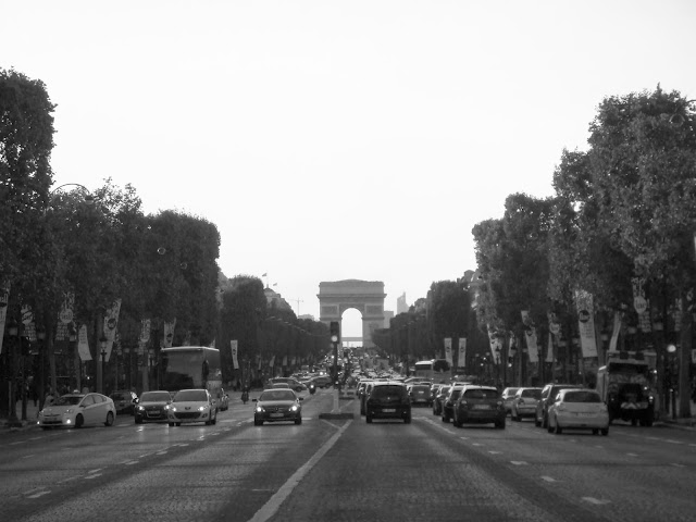 Paris Arc de Triomphe travel trip