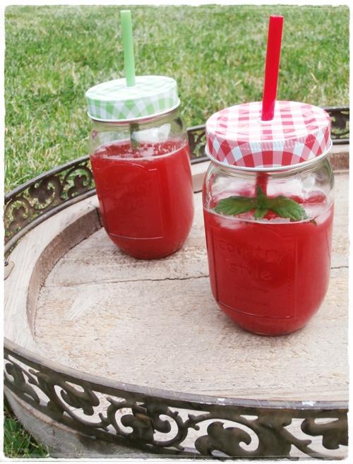 Rezept Sommer Himbeeren