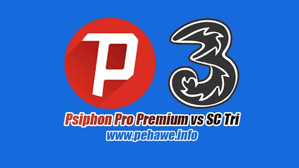 Cara Setting Psiphon Pro SC 3 (Tri) Opok Terbaru 2019