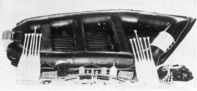 Perahu karet jenis Landing Craft Rubber