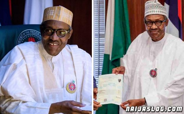Here is what President Buhari said after receiving his attestation of result from WAEC