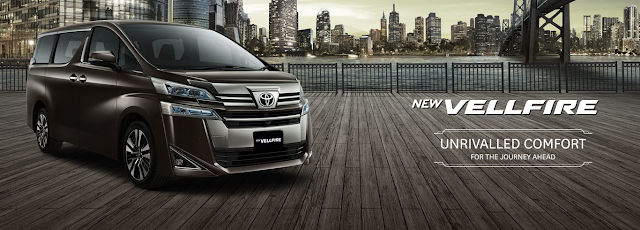 Toyota All New Vellfire 2018