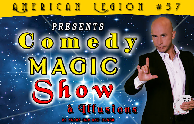 Event in Lake City: Comedy Magic Show in Lake City, Florida - June 15
