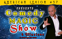 Lake City FL Events, Comedy Magic Show