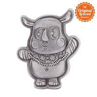 Alfacart Asian Games 2018 Kaka Mascot Brooch ANDHIMIND