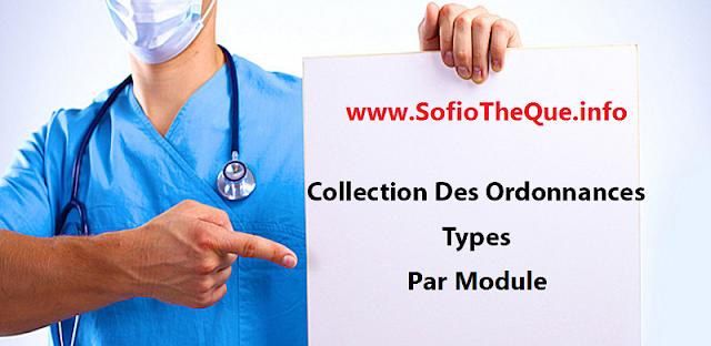 Collection des Ordonnances Types de médecine pdf